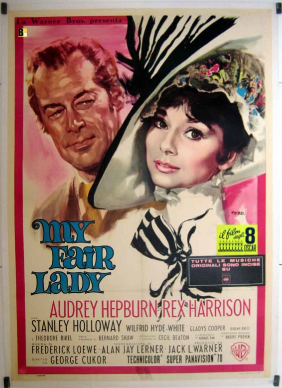 reflection on my fair lady movie Watch my fair lady, my fair lady full free movie online hd pompous phonetics professor henry higgins is so sure of his abilities that he takes it upon himself to transform a cockney working-class girl into someone watch4hdcom.
