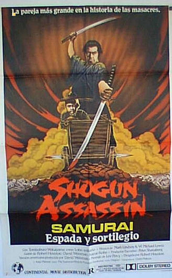 quotsamurai espada y sortilegioquot movie poster quotshogun