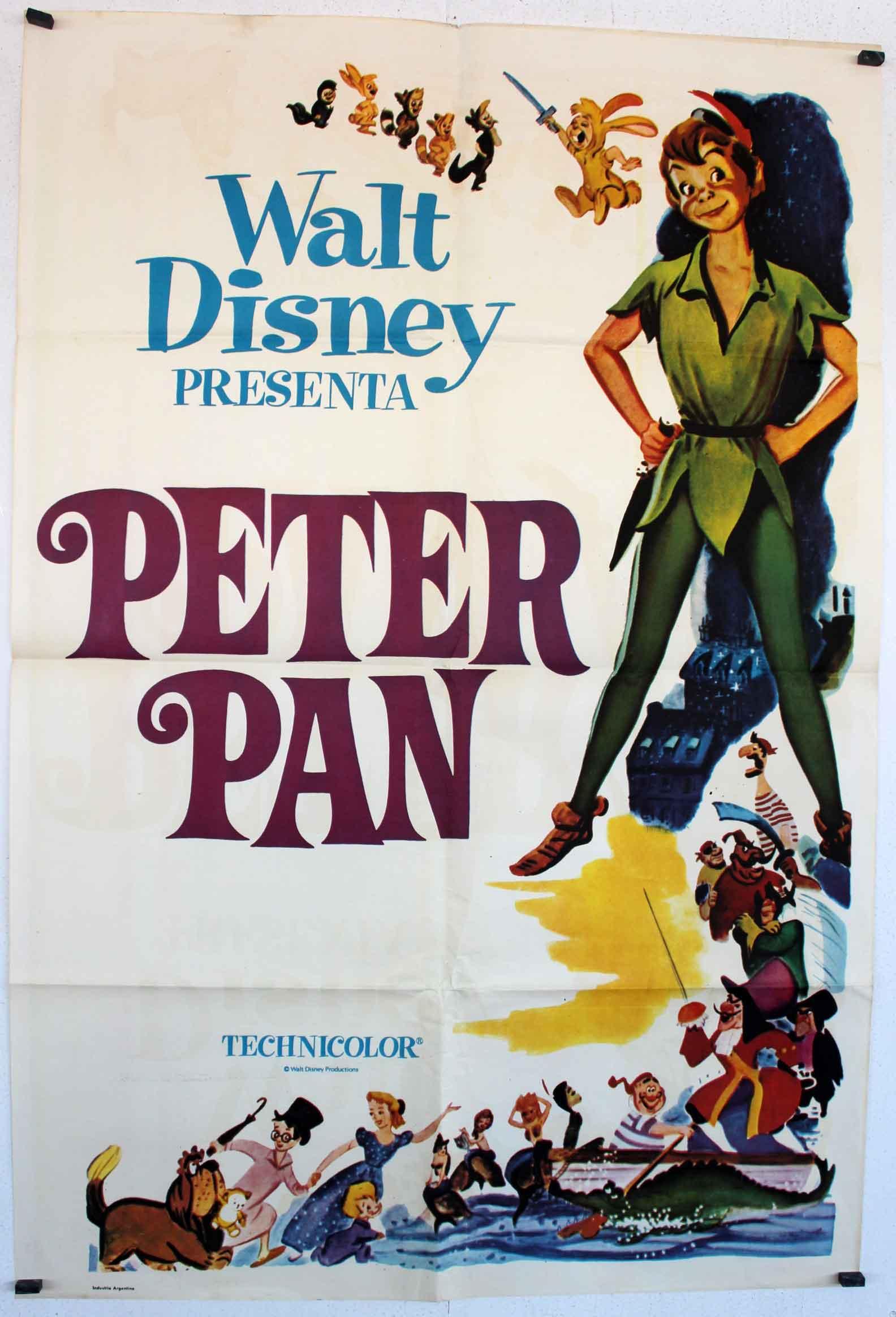 Quot Peter Pan Quot Movie Poster Quot Peter Pan Quot Movie Poster