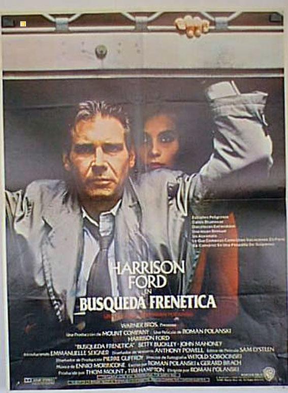 Busqueda Frenetica Movie Poster Frantic Movie Poster