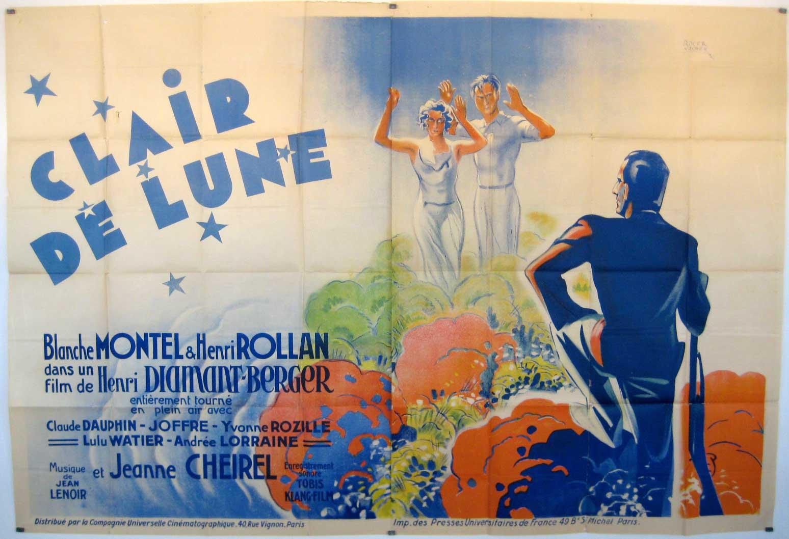 Clair De Lune Movie Poster Clair De Lune Movie Poster