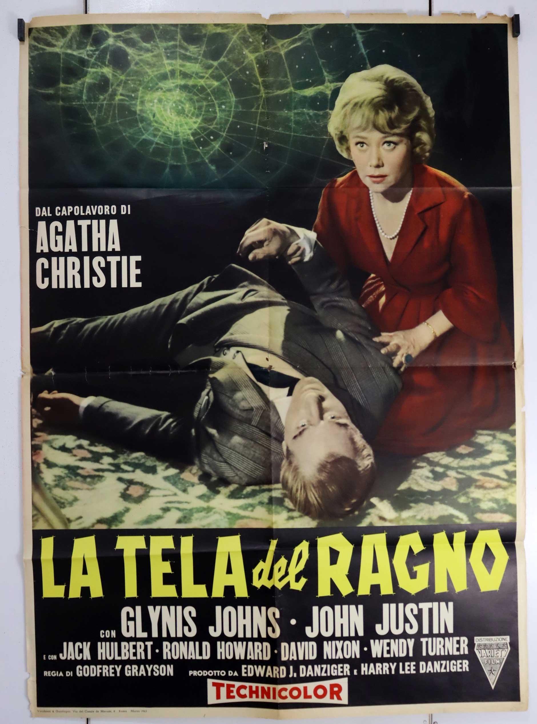 Risultati immagini per La Tela del Ragno 1960