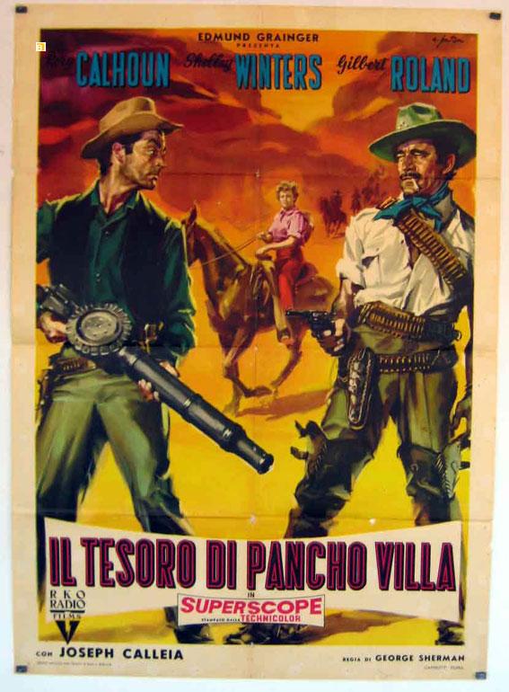 Il Tesoro Di Pancho Villa Movie Poster The Treasure