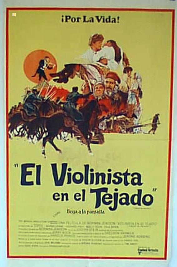 Quot Violinista En El Tejado El Quot Movie Poster Quot Fiddler On The Roof Quot Movie Poster