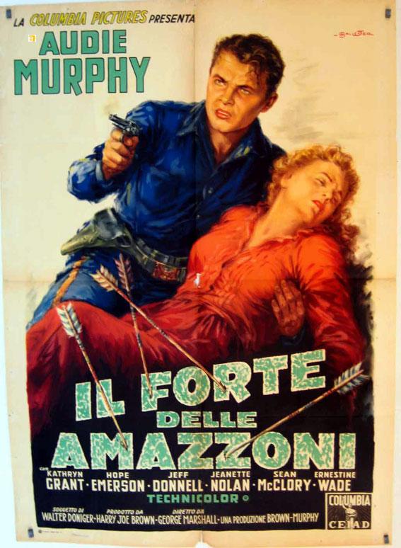 Quot Il Forte Delle Amazzoni Quot Movie Poster Quot The Guns Of Fort
