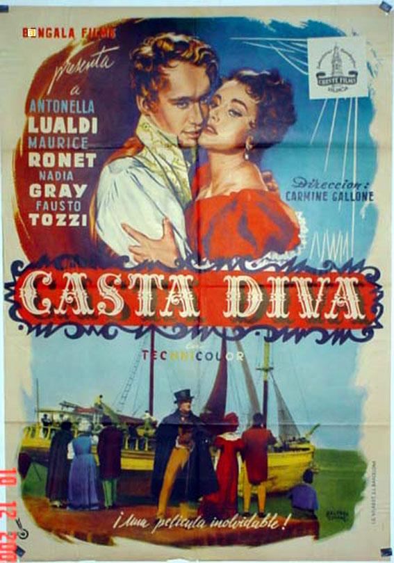 Casta diva movie poster casta diva movie poster for Casta diva pictures