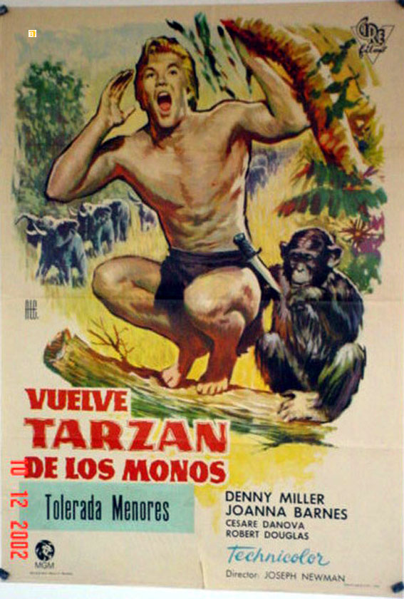 Quot Tarzan De Los Monos Quot Movie Poster Quot Tarzan The Ape Man