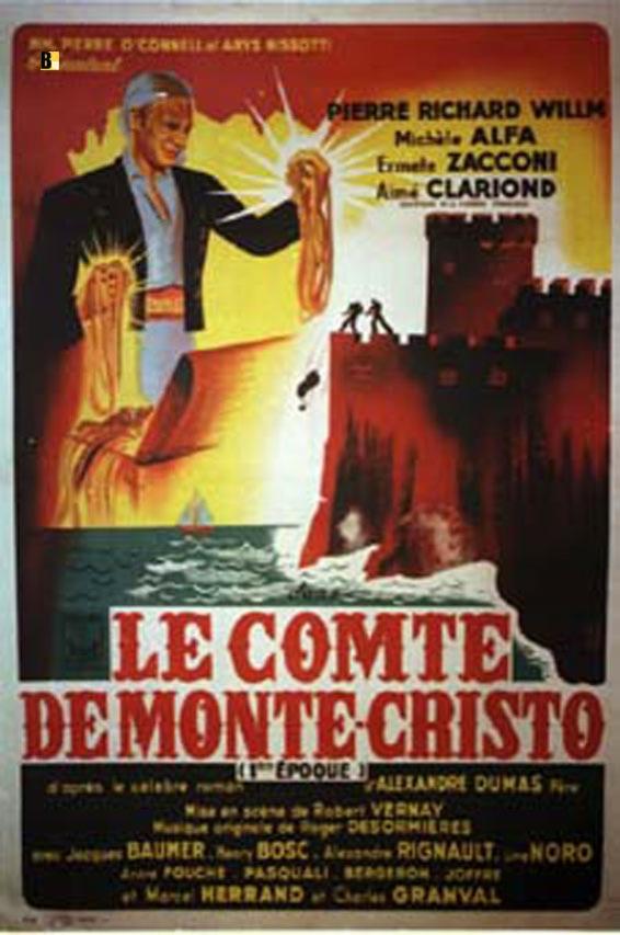 quot il conte di montecristo quot poster quot le comte de monte cristo quot poster