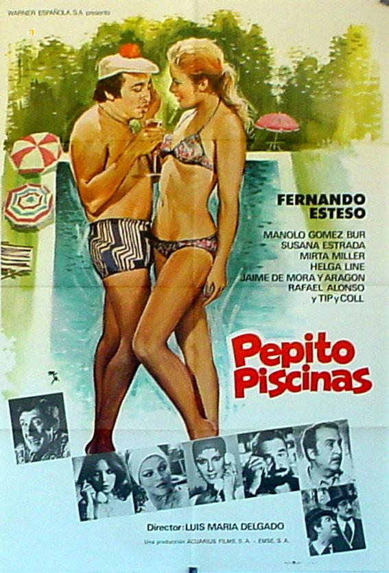 Pepito piscinas movie poster pepito piscinas movie for Pepito piscina
