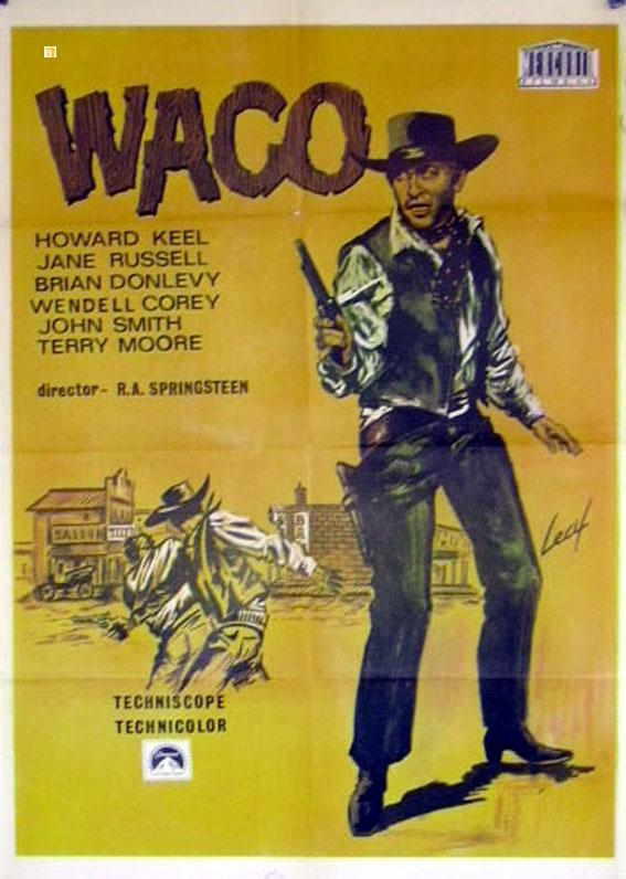 u0026quot waco  una pistola infallibile u0026quot  movie poster