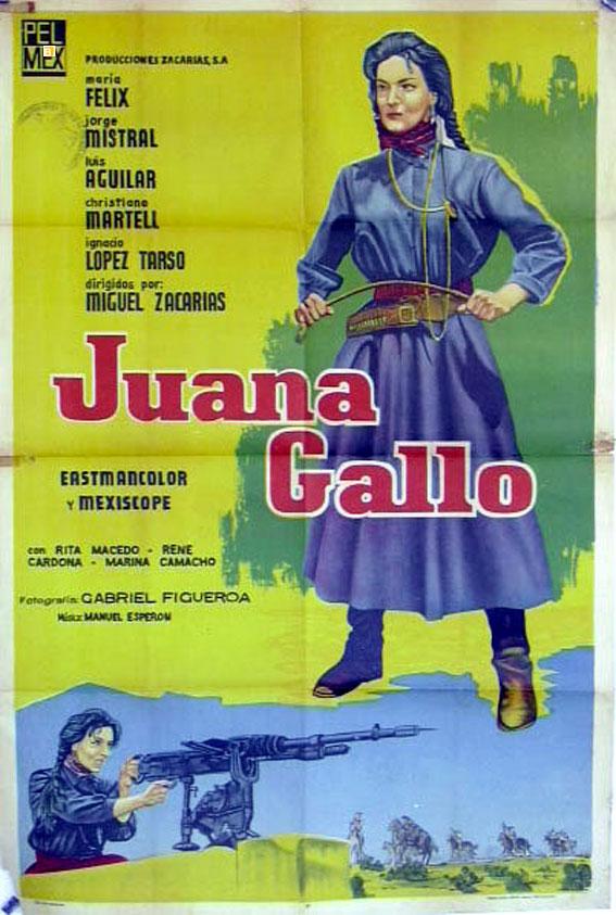 Quot Juana Gallo Quot Movie Poster Quot Juana Gallo Quot Movie Poster