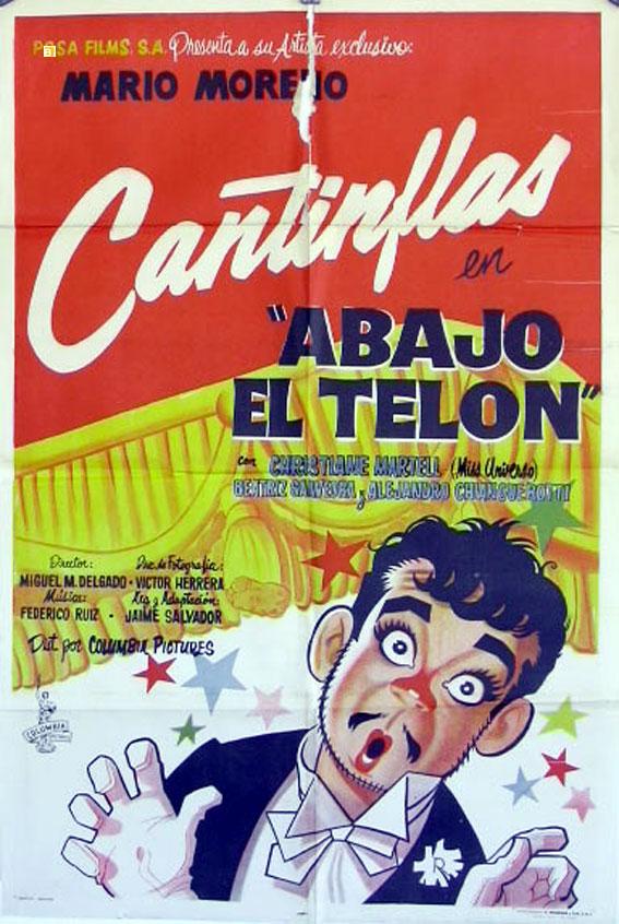 Abajo el telón (1955) | 3gp/Mp4/DVDRip Latino HD Mega