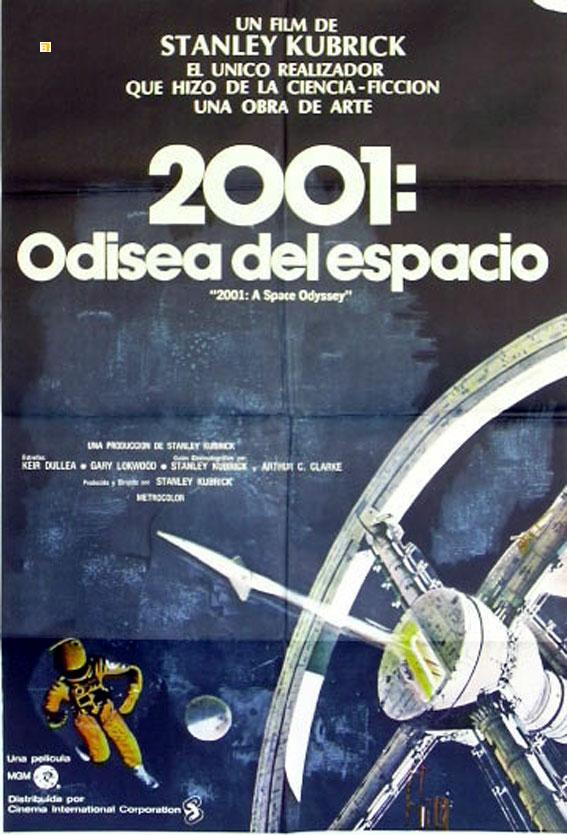 Resultado de imagen para 2001: Odisea del espacio (1968)