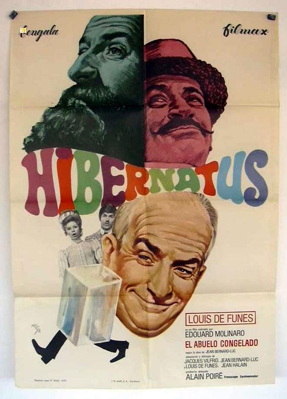 hibernatus movie poster hibernatus movie poster. Black Bedroom Furniture Sets. Home Design Ideas
