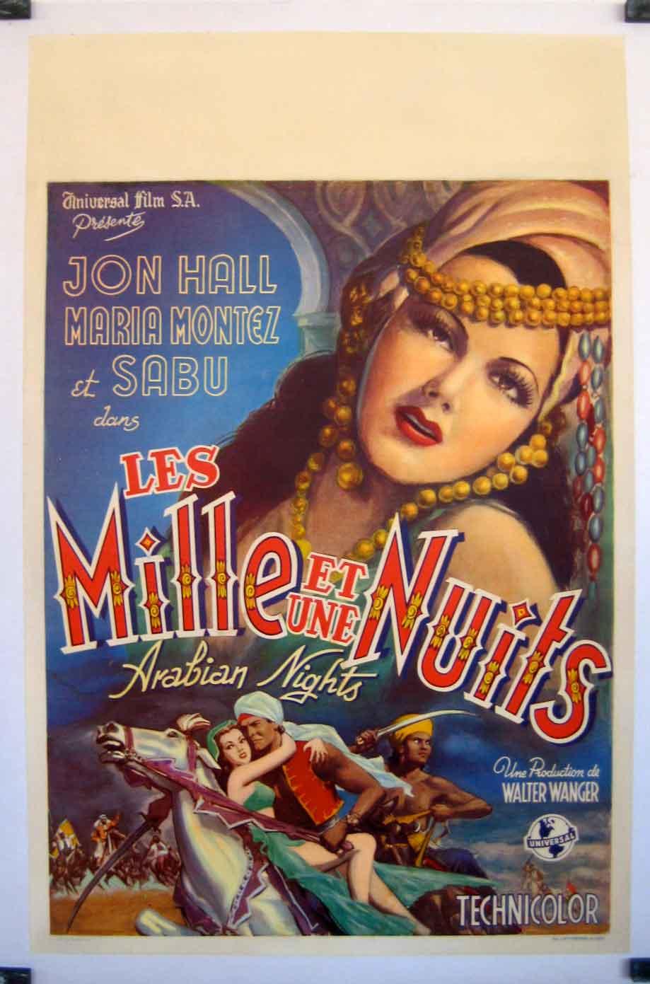 "Arabian Nights Pelicula Completa Español mille et une nuits, les"" movie poster - ""arabian nights"