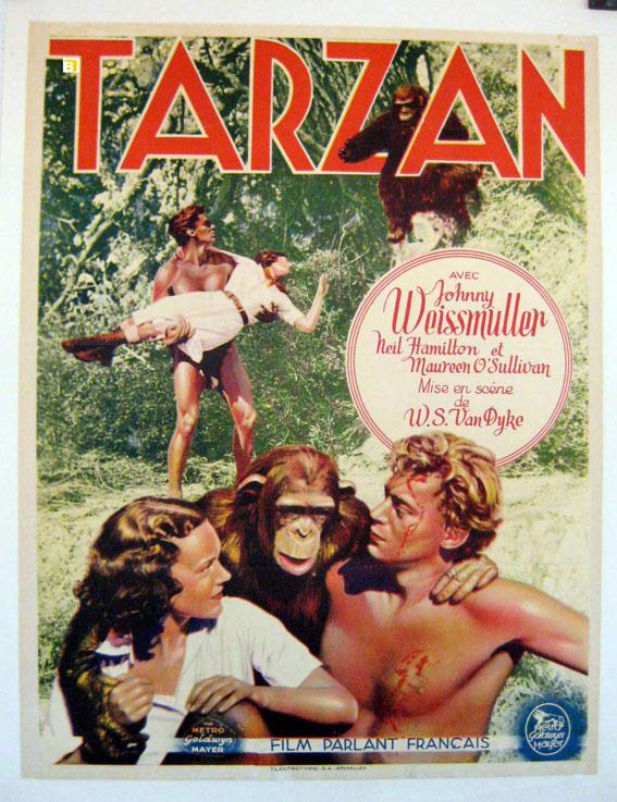 tarzán de los monos 1932 online