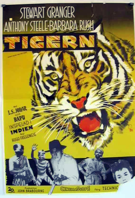 quottigernquot movie poster quotharry black and the tigerquot movie