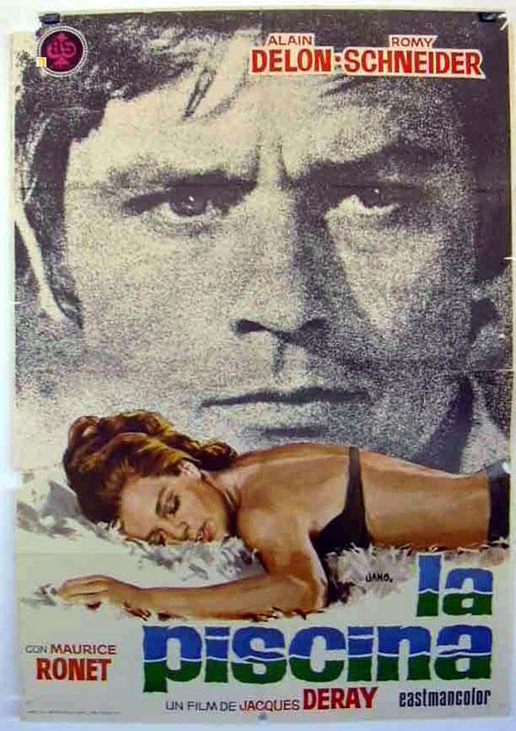 Piscina la movie poster la piscine movie poster for La piscine movie