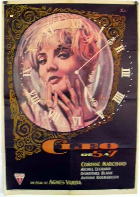 Cleo De 5 A 7 Movie Poster Cleo De Cinq A Sept Movie Poster