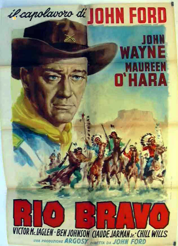 u0026quot rio grande u0026quot  movie poster