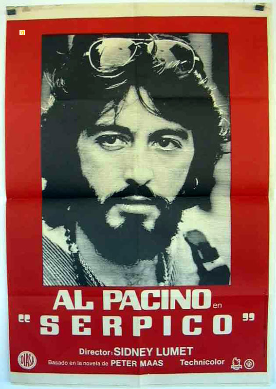 quotal pacino serpico quot movie poster quotserpicoquot movie poster