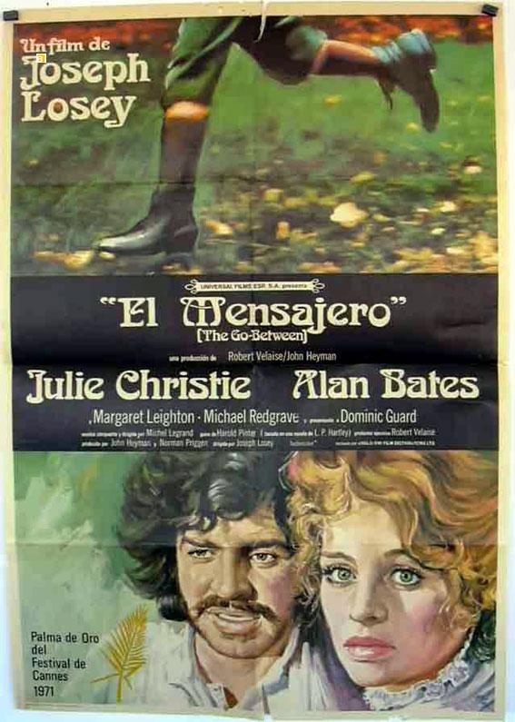 """""""MENSAJERO,EL"""" MOVIE POSTER - """"THE GO-BETWEEN"""" MOVIE POSTER"""