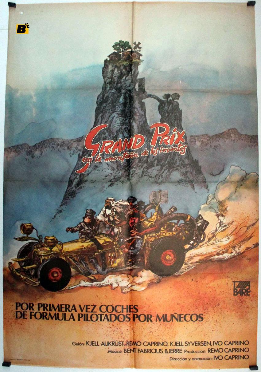 Weinlese Gan prix Poster