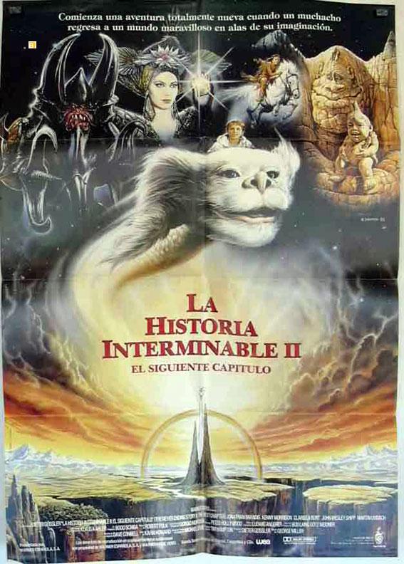 """""""HISTORIA INTERMINABLE, LA"""" MOVIE POSTER - """"THE NEVER"""