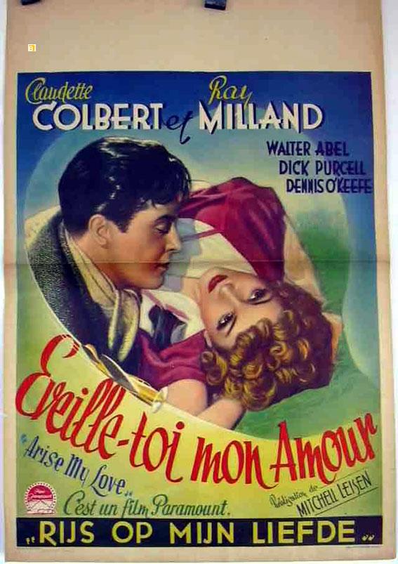 Eveille Toi Mon Amour Movie Poster Arise My Love Movie