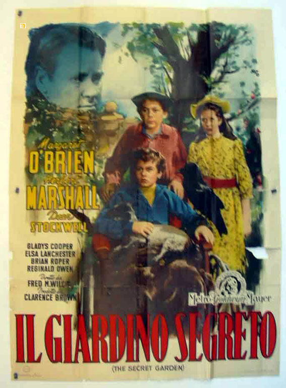 Jardin secret le movie poster the secret garden movie poster - Il giardino segreto pdf ...