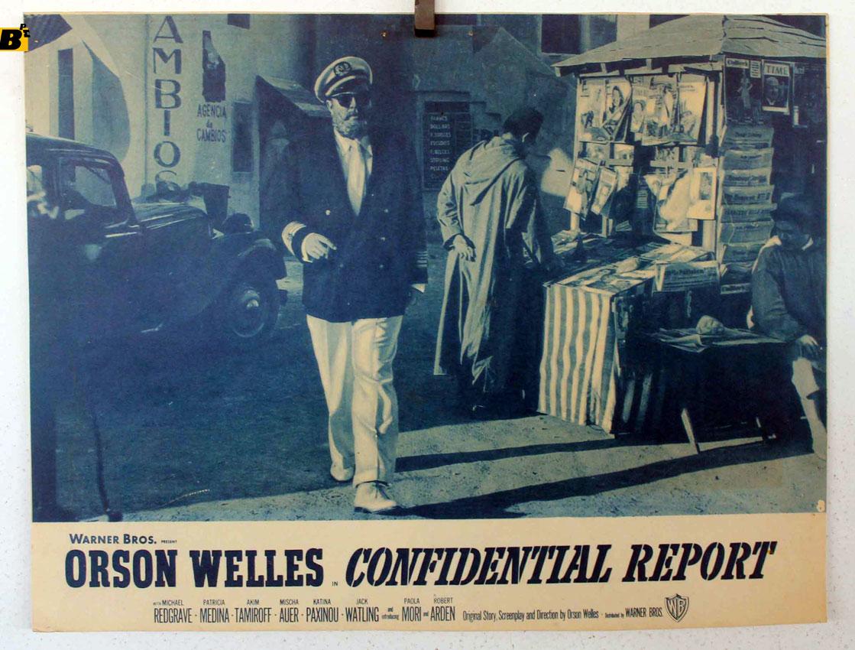 Mr Arkadin Orson Welles vintage movie poster