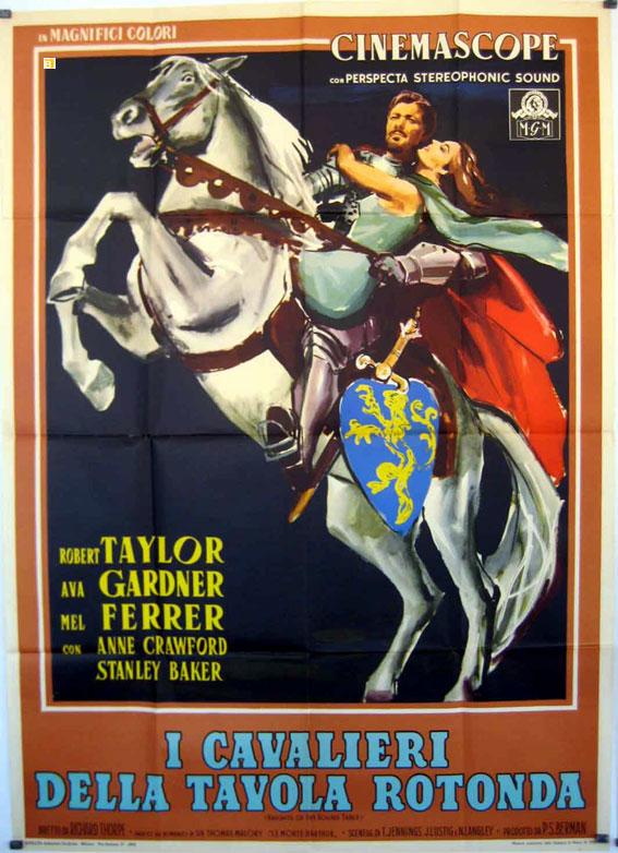 I cavalieri della tavola rotonda movie poster knights of the round table movie poster - Numero cavalieri tavola rotonda ...