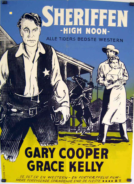 High noon movie poster shop