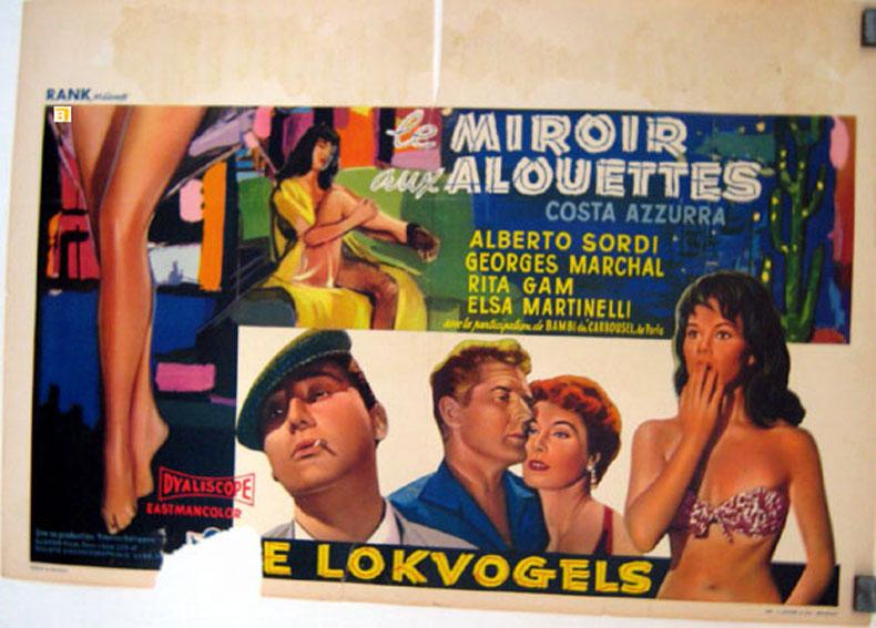 Miroir aux alouettes le movie poster costa azzurra for Miroir aux alouettes signification