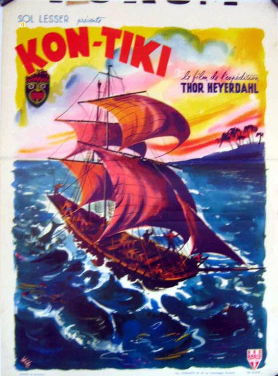 Kon Tiki Movie Poster Kon Tiki Movie Poster