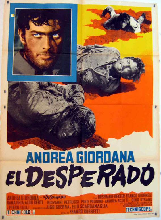 El Desperado Movie Poster El Desperado Movie Poster