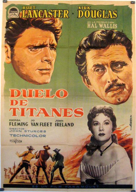 Duelo De Titanes Movie Poster Gunfight At The Ok