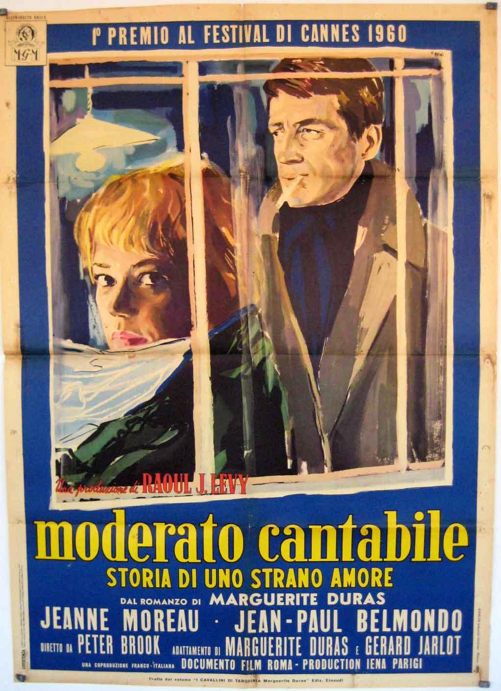 moderato cantabile Lisez ce littérature commentaires composés et plus de 201 000 autres dissertation incipit moderato cantabile incipit moderato cantabile marguerite duras commentaire moderato cantabile est un roman paru en 1958 écrit par marguerite duras (1914-1996) qui.