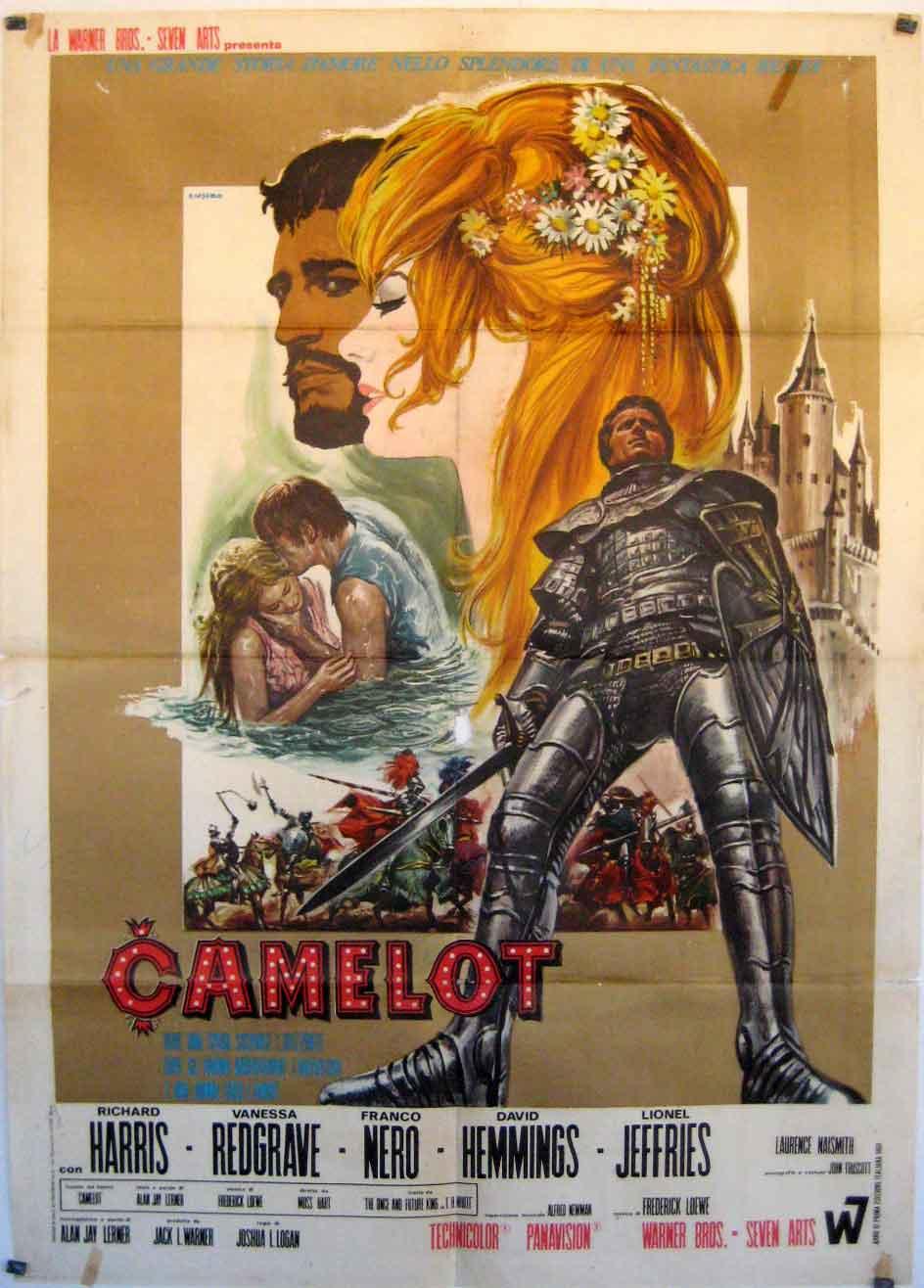 quotcamelotquot movie poster quotcamelotquot movie poster