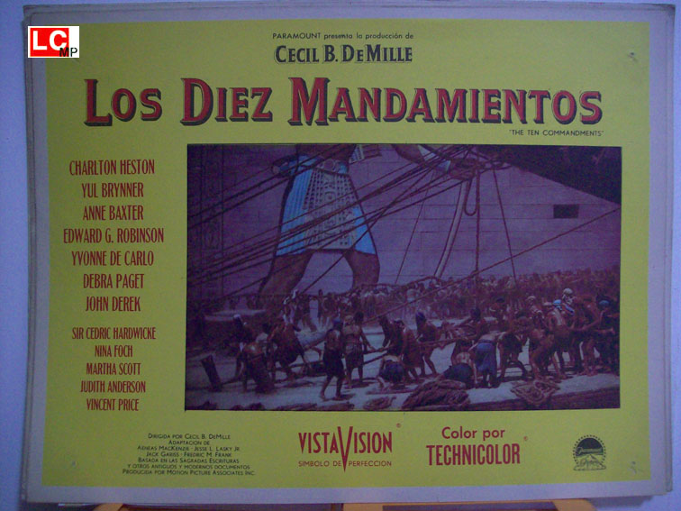 Los diez mandamientos movie poster ten commandemant movie poster - Los 10 locos mandamientos ...