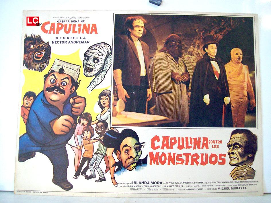 Resultado de imagen para capulina contra los monstruos