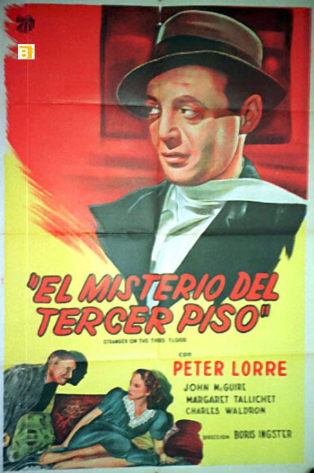 Misterio del tercer piso el movie poster stranger on for El cuarto piso pelicula