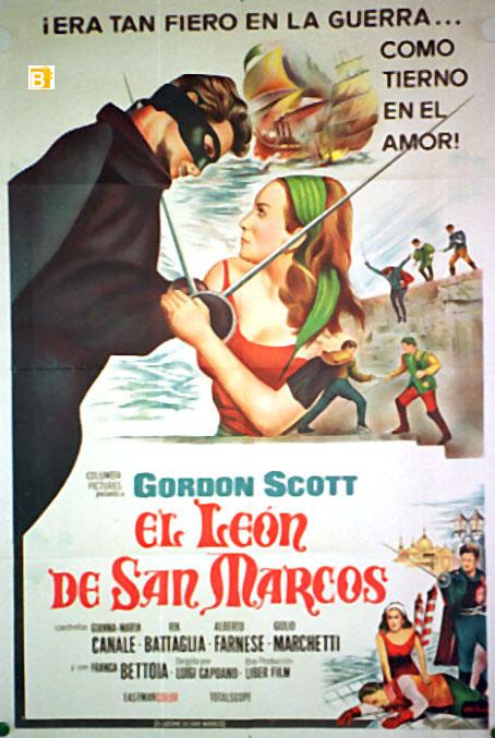 Leon de san marcos el movie poster il leone di san - Marcos para posters ...