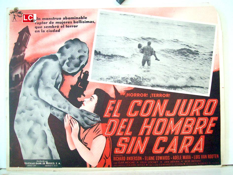 El Conjuro Del Hombre Sin Cara Movie Poster Curse Of The