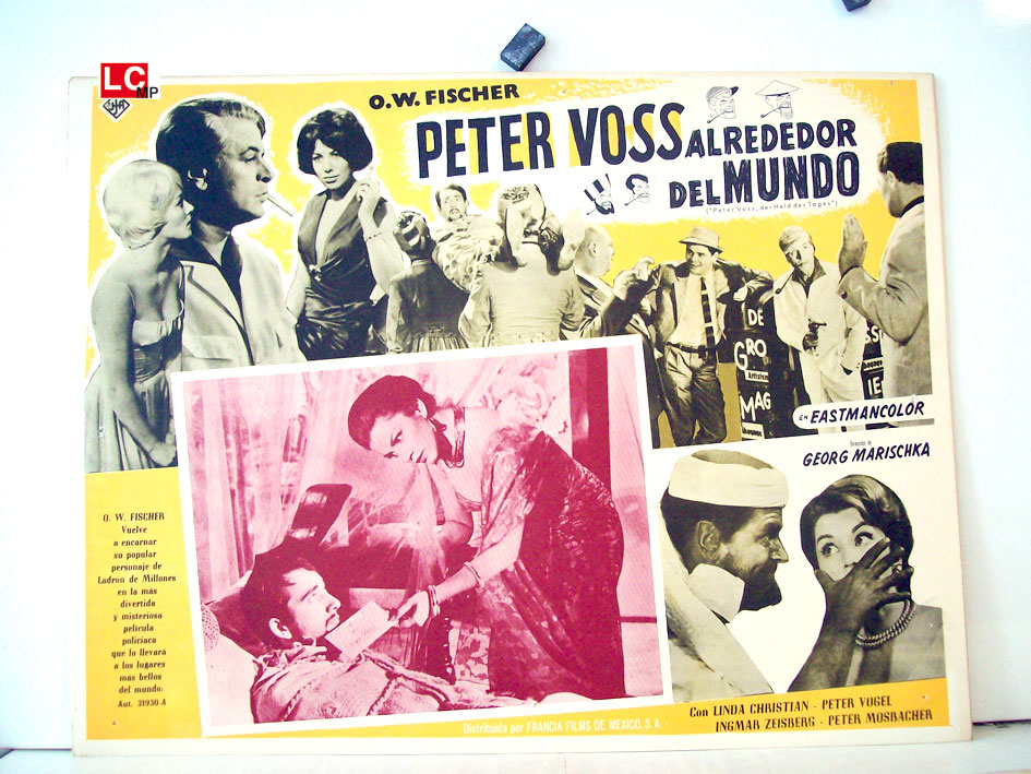 peter voss caballero detective movie poster peter. Black Bedroom Furniture Sets. Home Design Ideas
