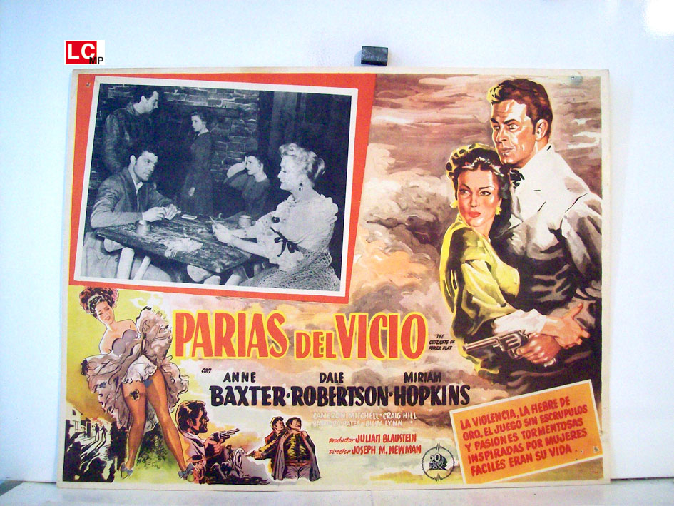 """PARIAS DEL VICIO"" MOVIE POSTER - ""THE OUTCASTS OF POKER ..."