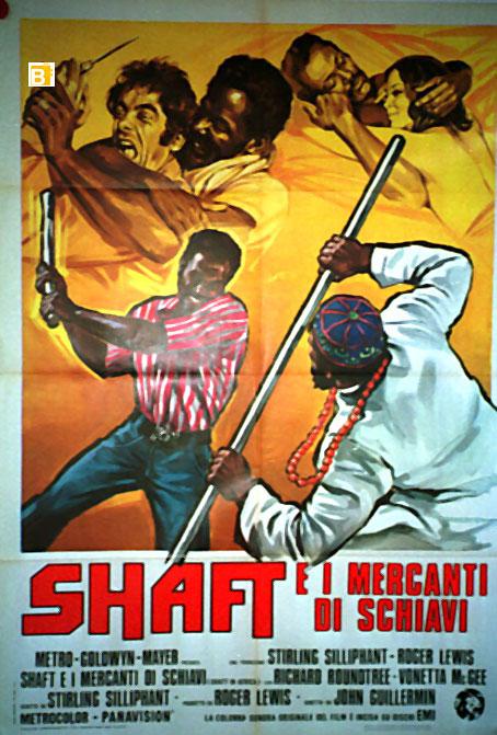 Risultati immagini per Shaft e i Mercanti di Schiavi