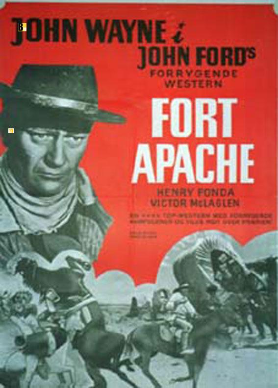 u0026quot fort apache u0026quot  movie poster