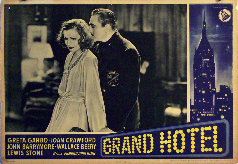 grand hotel movie poster grand hotel movie poster. Black Bedroom Furniture Sets. Home Design Ideas