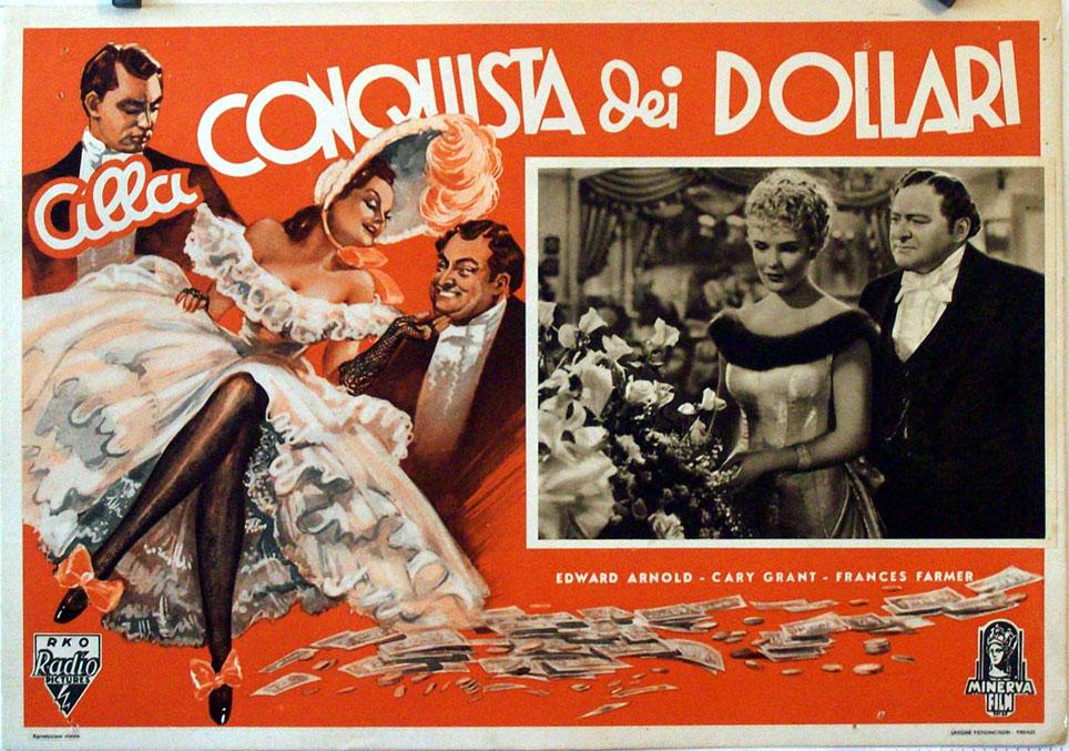 quotalla conquista dei dollariquot movie poster quotthe toast of